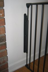 G70 gate mounted to wall